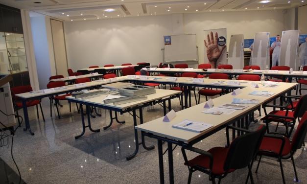 Knauf Academy classroom